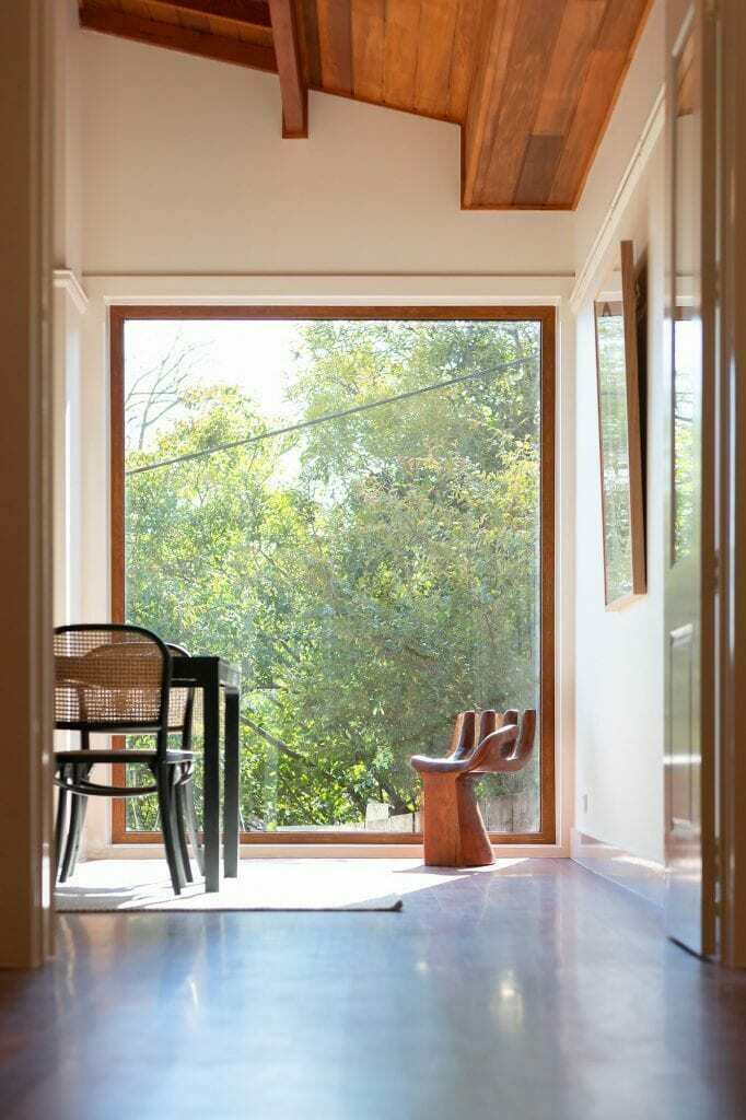 Homes by Howe Canberra builder – Governor Generals' renovation extension – Window with view