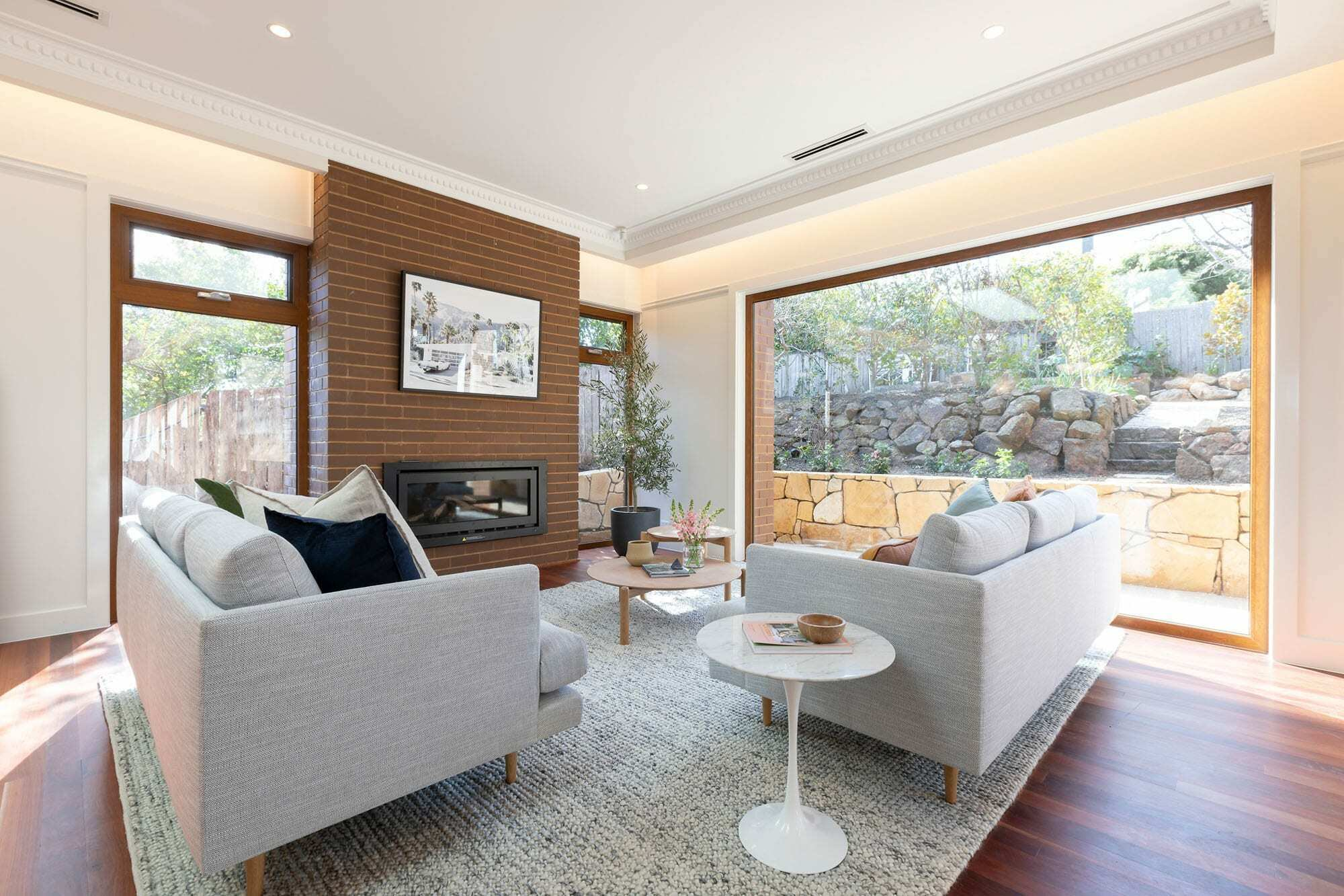 Homes by Howe Canberra builder – Governor Generals' renovation extension – lounge room
