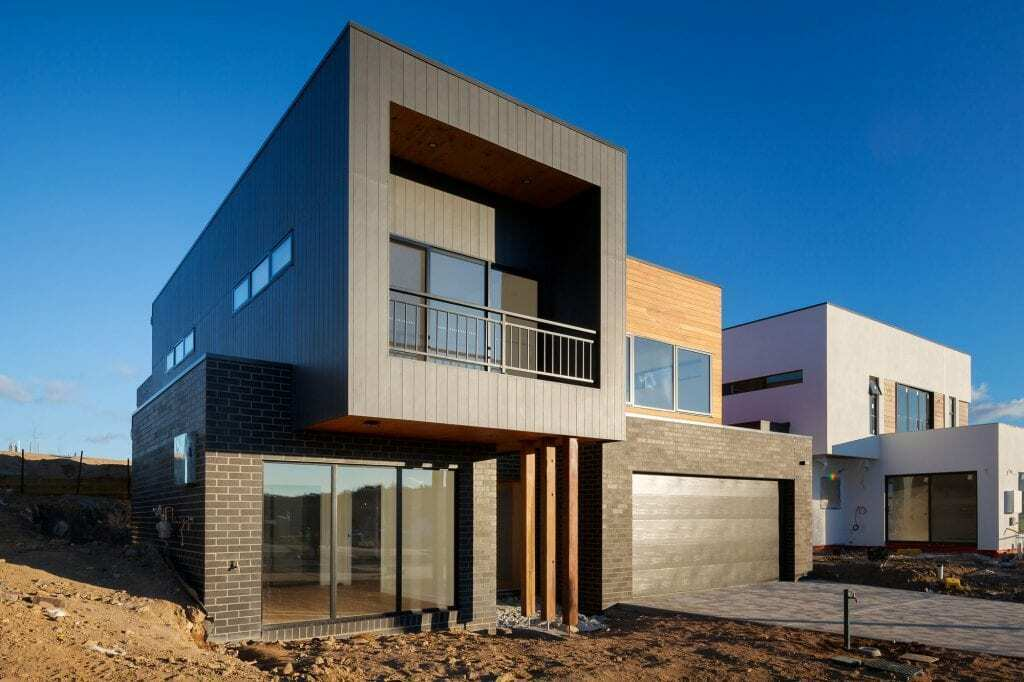 Homes by Howe Canberra builder —new home build in progress in Griffith, ACT.