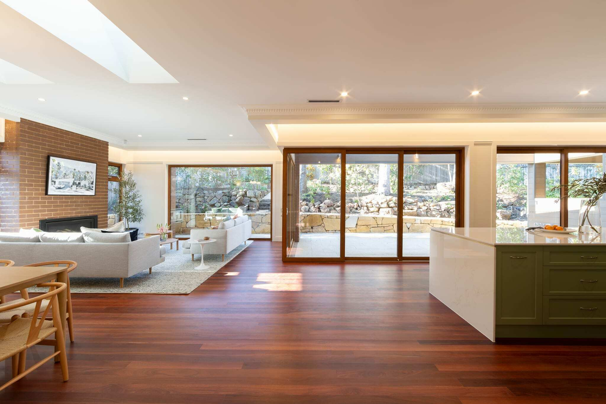 Homes by Howe Canberra builder – Governor Generals' renovation extension – Family room