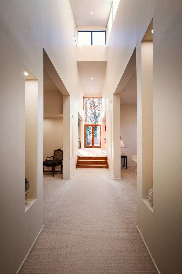 Homes by Howe Canberra builder – Enrico Taglietti designed home - hallway
