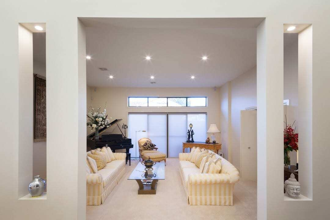 Homes by Howe Canberra builder – Enrico Taglietti designed home - lounge