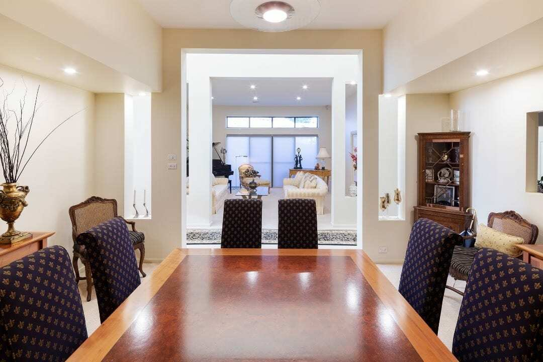 Homes by Howe Canberra builder – Enrico Taglietti designed home - dining