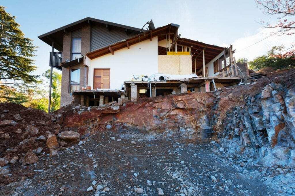 Homes by Howe Canberra builder – Governor Generals' progress shot after demolition